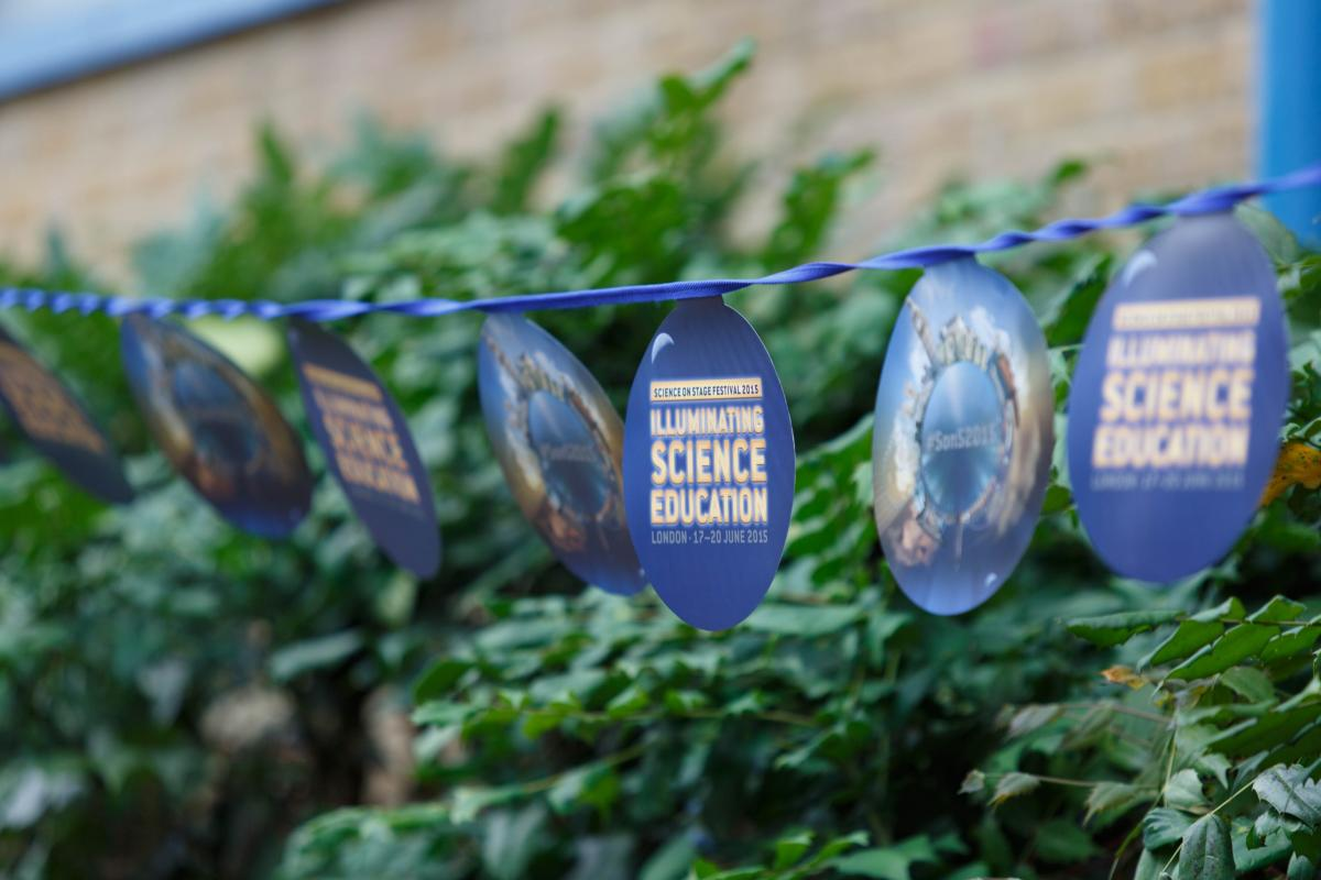 science on stage bunting