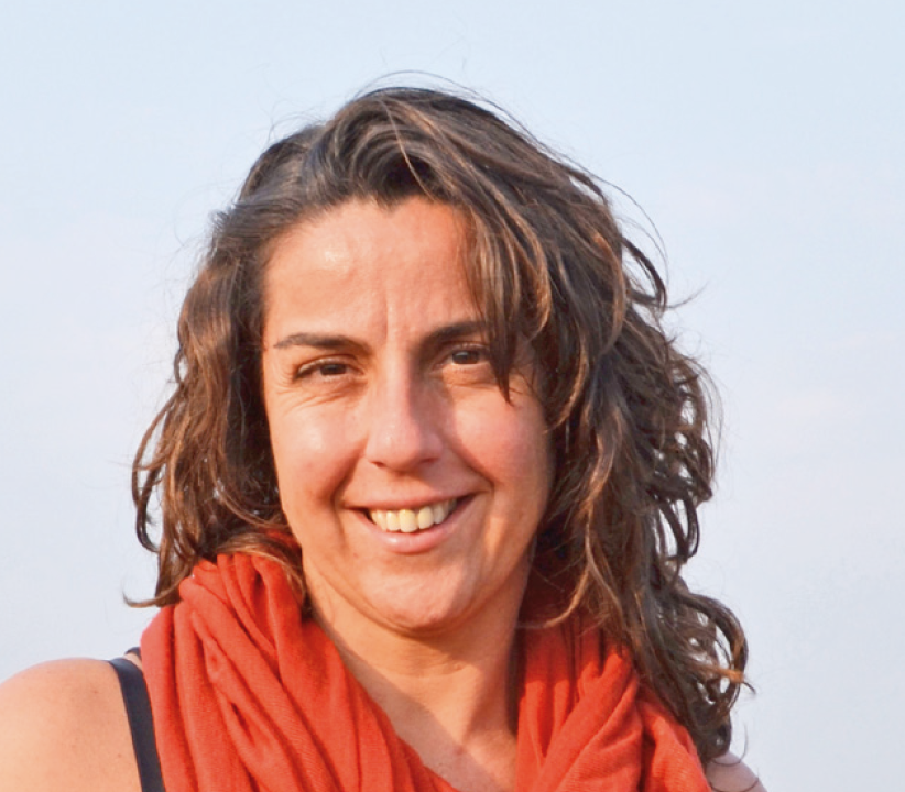 Isabel Palacios, one of the founders of the DrosAfrica project Isabel Palacios
