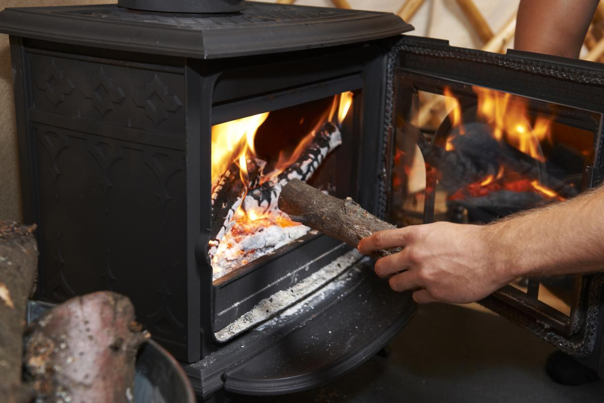 Wood-burning stoves emit a mixture of potentially harmful gases.