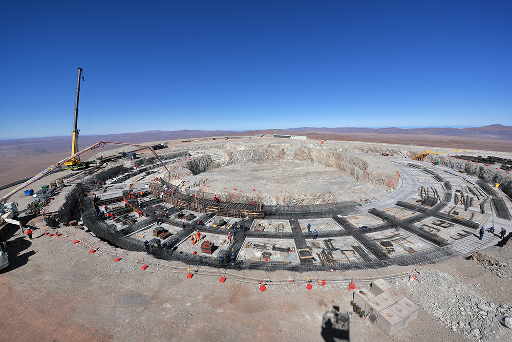 Construction is now underway for the foundations of the ELT in the remote Chilean Atacama Desert.