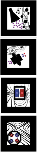 Symbols for the different accelratAR component cubes.