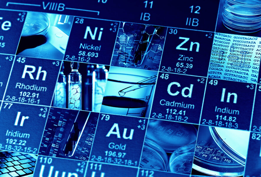 A periodic table of endangered elements